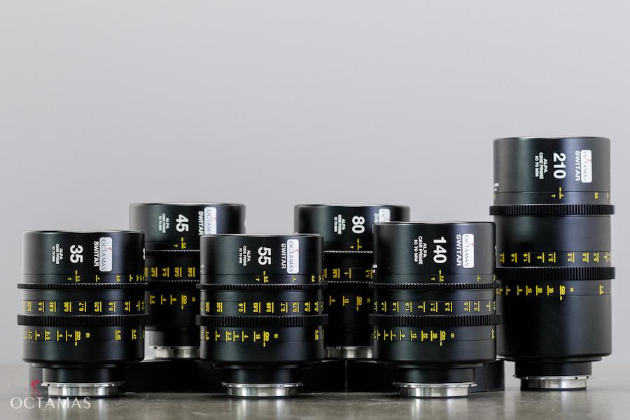 ALPA SWITAR Cine Lenses PL Lenses OCTAMAS Rental