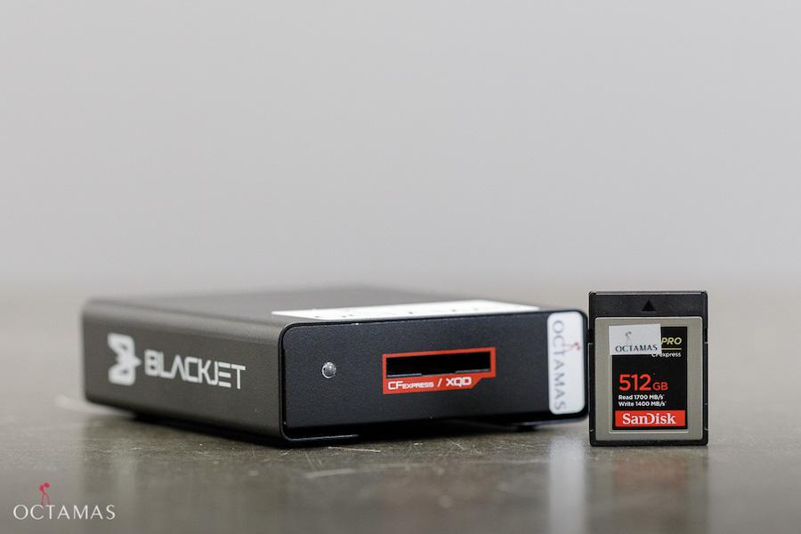 ATECH BLACKJET CFexpress Reader OCTAMAS Rental